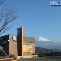 富士川サービスエリア(下り)にある、日本一絶景が素晴らしいスターバックス