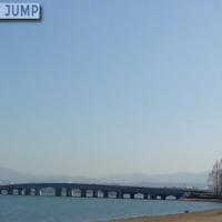 近江大橋有料道路は2013年12月26日をもって無料化。料金所も撤廃