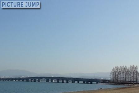 近江大橋有料道路は2013年12月26日をもって無料化