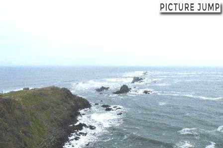 襟裳岬の先端