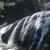 岩壁を這い蹲るダイナミックな袋田の滝!直前の歩行者用トンネルは有料道路