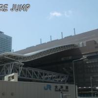 五代目JR大阪駅舎と大阪ステーションシティの新たな憩い場、時空の広場と風の広場