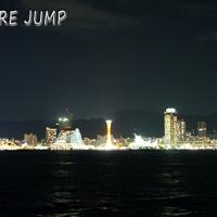神戸ポートアイランド・ポーアイしおさい公園で夜景撮影