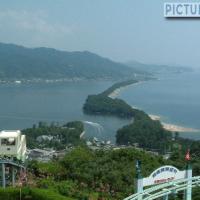 日本三景・天橋立 天橋立ビューランド・股のぞき台から絶景