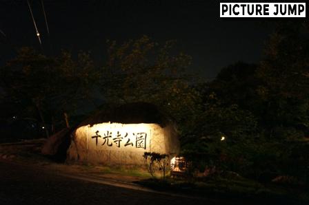 夜の千光寺公園