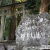 那智大滝のマイナスイオンを浴びに飛瀧神社へ。滝とともにクレーンがそびえ立つ光景は災害復旧工事期間中だけ