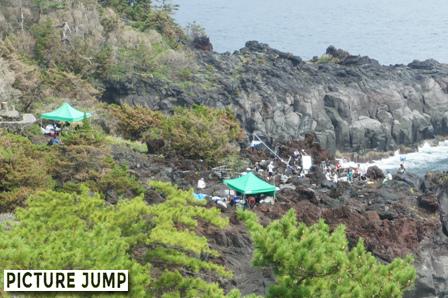 城ヶ崎海岸(ロケ地)