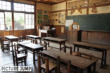 二十四の瞳映画村 岬の分教場 教室