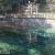 日本名水百選・別府弁天池。コバルトブルーに輝く不思議な湧水池