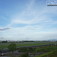 伊丹スカイパークで大阪国際空港(伊丹空港)を一望