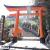 熊野那智大社・本殿へ通る2つの鳥居