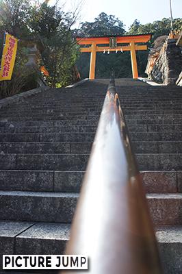 熊野那智大社 二の鳥居