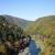 京都・嵐山 亀山公園展望台で保津峡の紅葉撮影