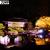 50種・200本を超える桜の品種の多さで有名な二条城 圧巻の夜桜ライトアップ