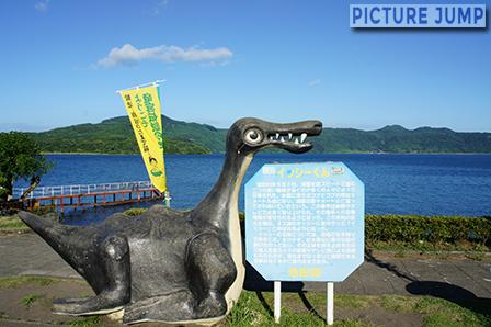 九州最大の湖・池田湖と謎の巨大水棲生物イッシー