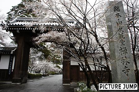 永観堂禅林寺は雪景色も見物