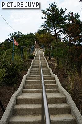 小豆島・小瀬の重ね岩(小瀬石鎚神社)