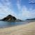 仙酔島 彦浦海岸と陸続きになっている下加美島
