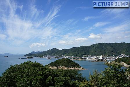 仙酔島 赤岩展望台