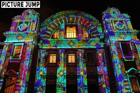 音と光の演出に彩られた大阪市中央公会堂3Dマッピング演出 -OSAKA光のルネサンス2012-